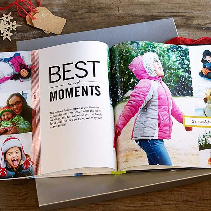 Best Travel Moments photo book