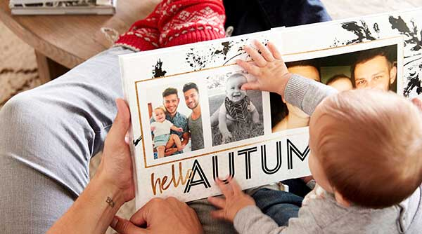Hello Autumn photo book