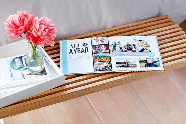 All in A Year photo book