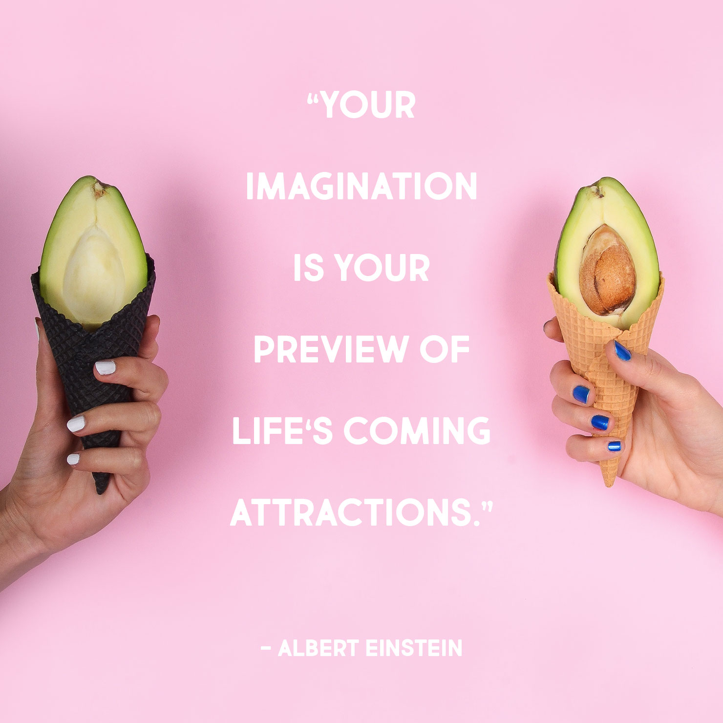 high school graduation quote: your imagination is your preview of life's coming attractions - albert einstein
