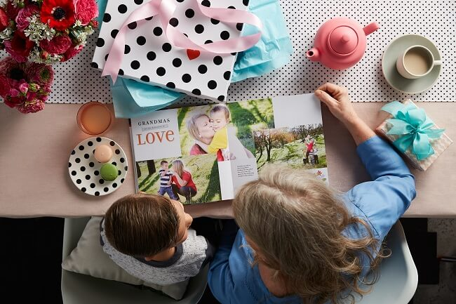 mothers day photo book