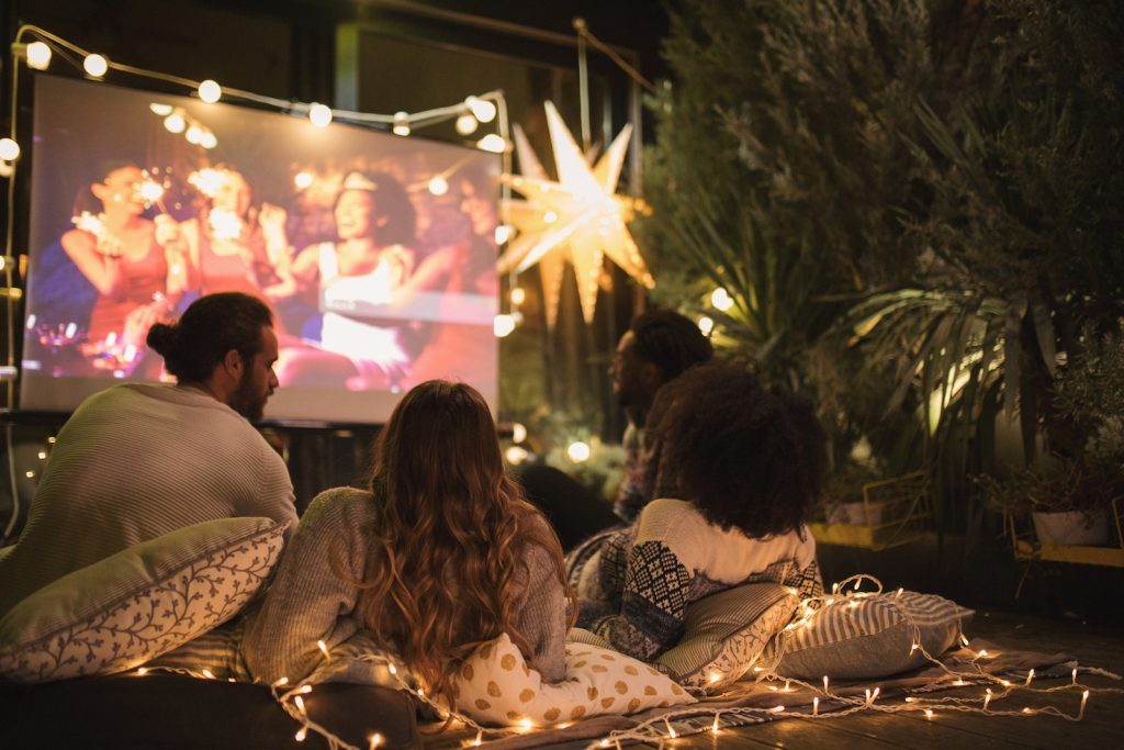 sweet sixteen out door movie party