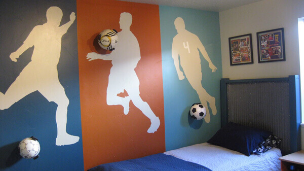 Teen Room Idea by Painted Daisies Murals - Shutterfly.com