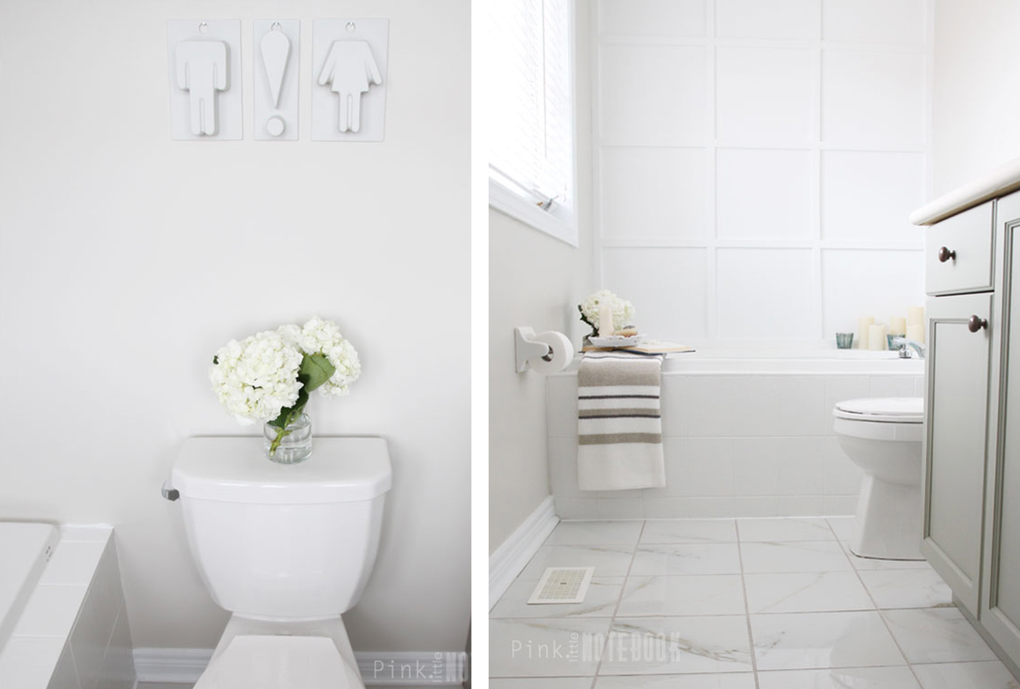 Bathroom Decoration Idea by Pink Little Notebook - Shutterfly