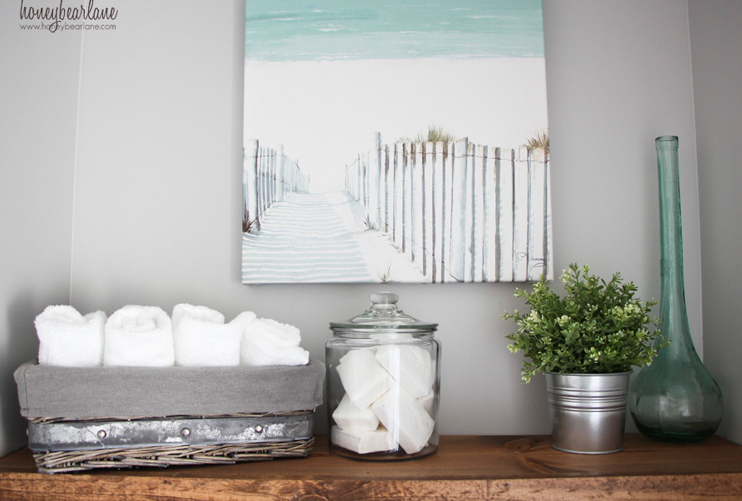 Bathroom Decoration Idea by Honey Bear Lane - Shutterfly