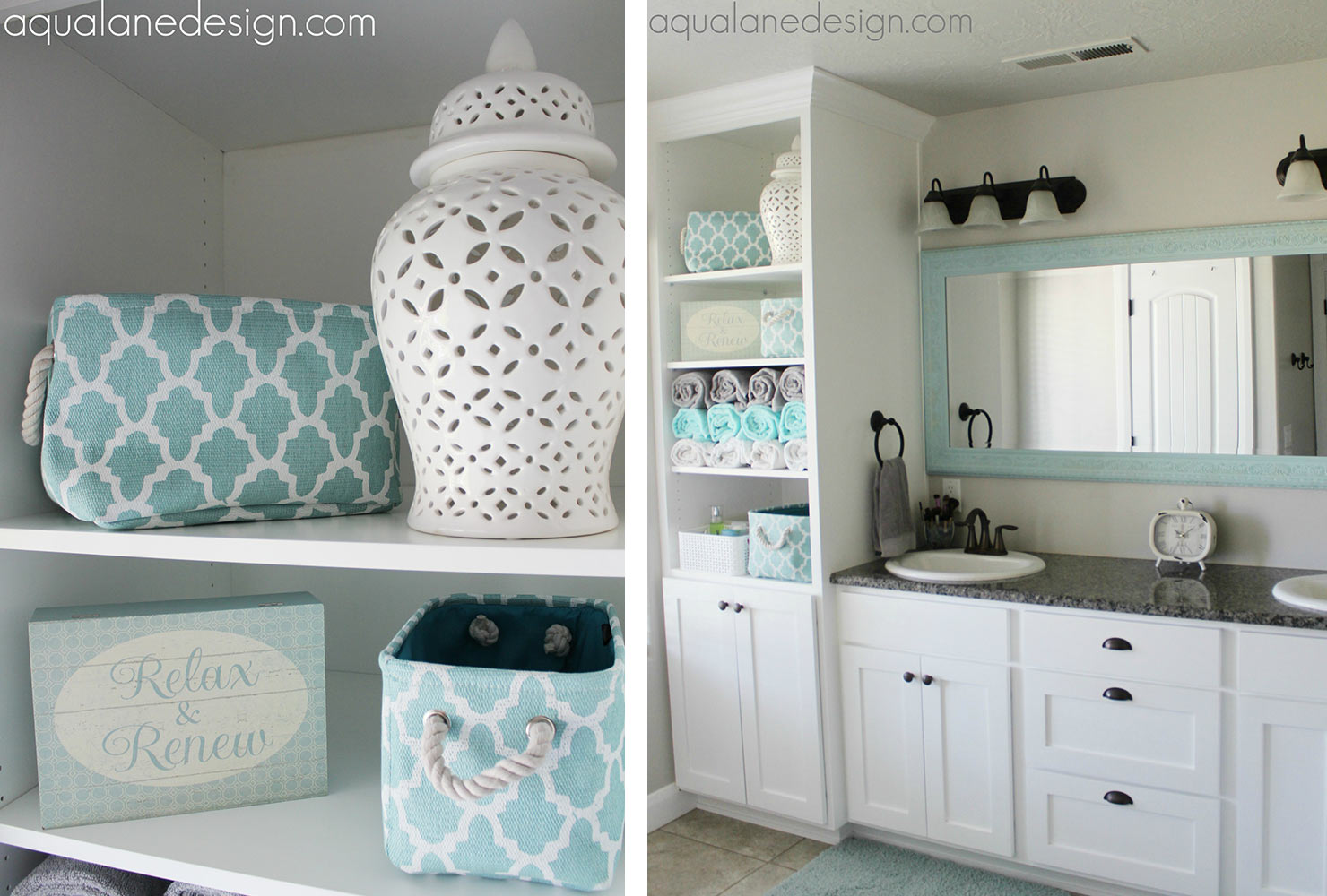 Bathroom Decoration Idea by Aqua Lane Designs - Shutterfly