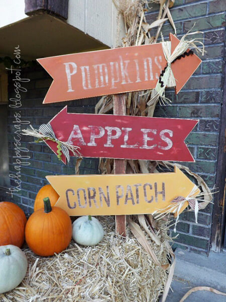 Fall Decorating Idea by Bless This Mess Please - Shutterfly.com