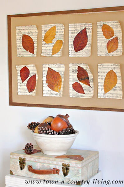 Fall Decorating Idea by The Crazy Craft Lady - Shutterfly.com