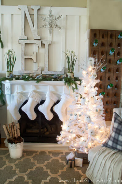 Winter Decorating Idea by http://www.thecraftedsparrow.com/2015/12/diy-snowflake-winter-decor.html - Shutterfly.com