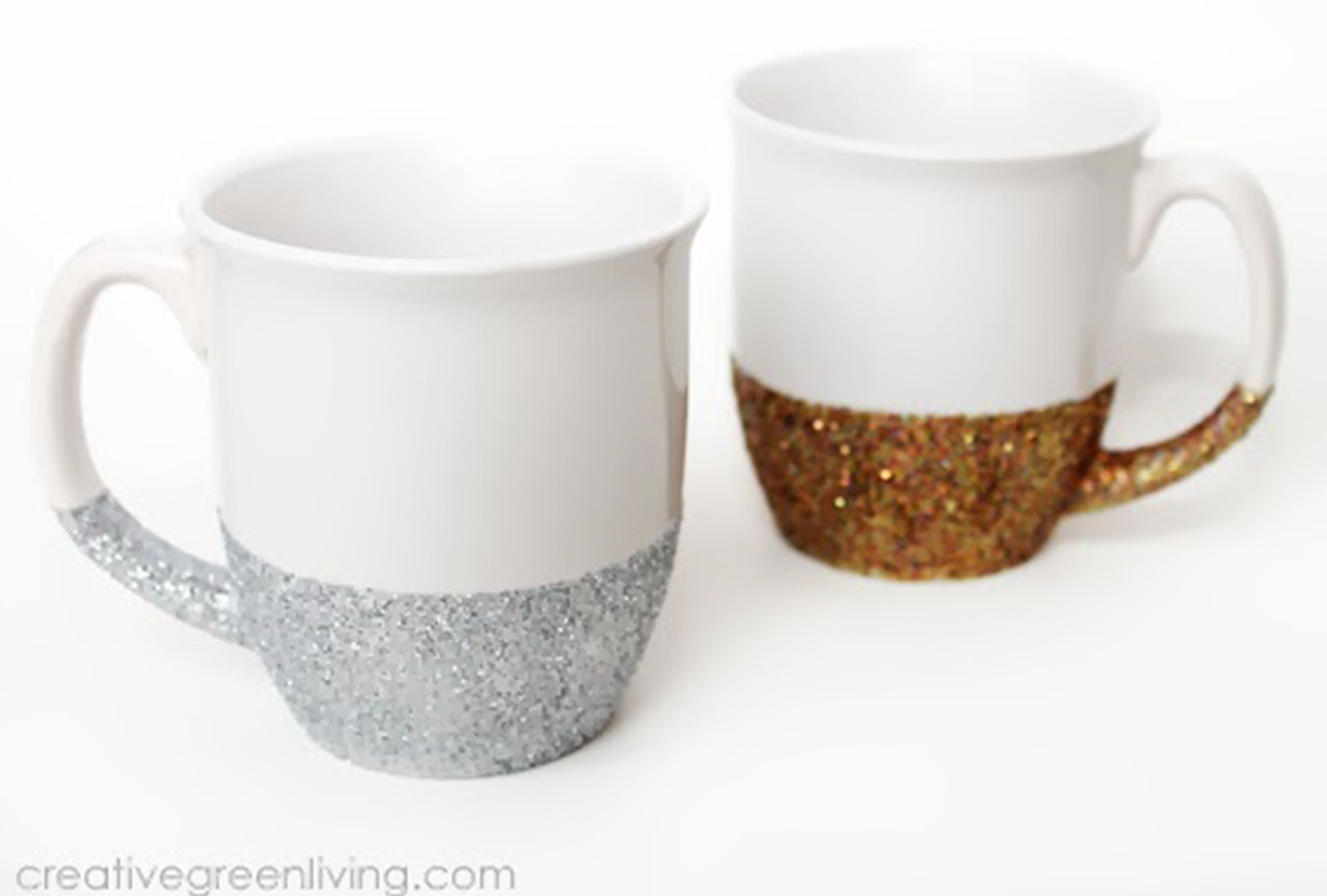 gifts for sisters glitter mugs