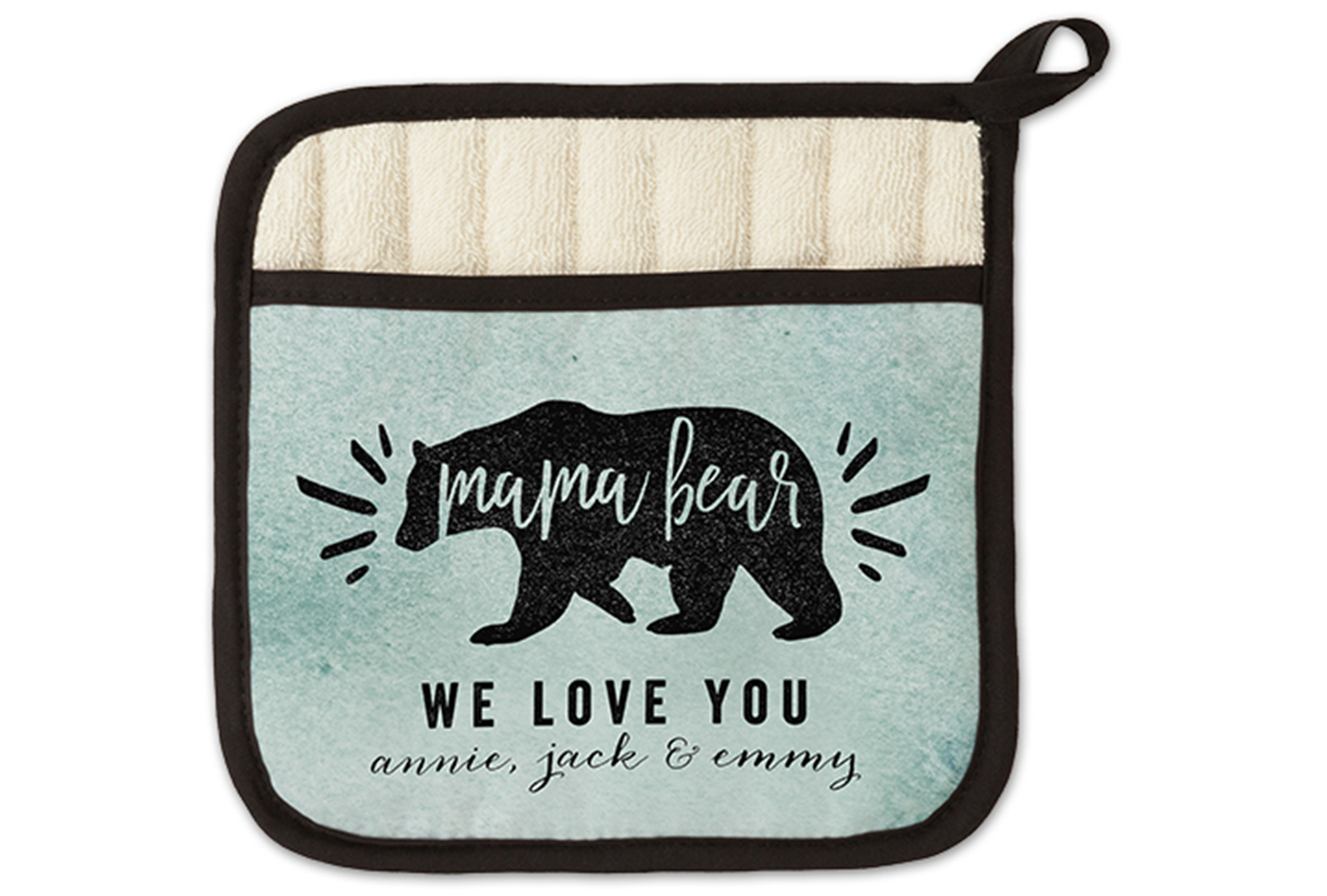 mama bear pot holder