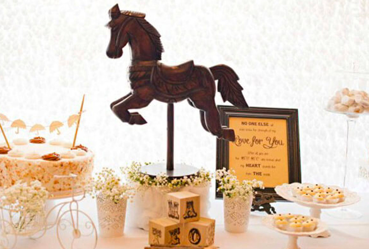 baby boy baby shower themes antique horse