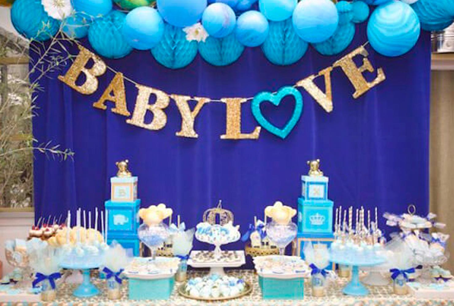 baby boy baby shower themes baby love banner