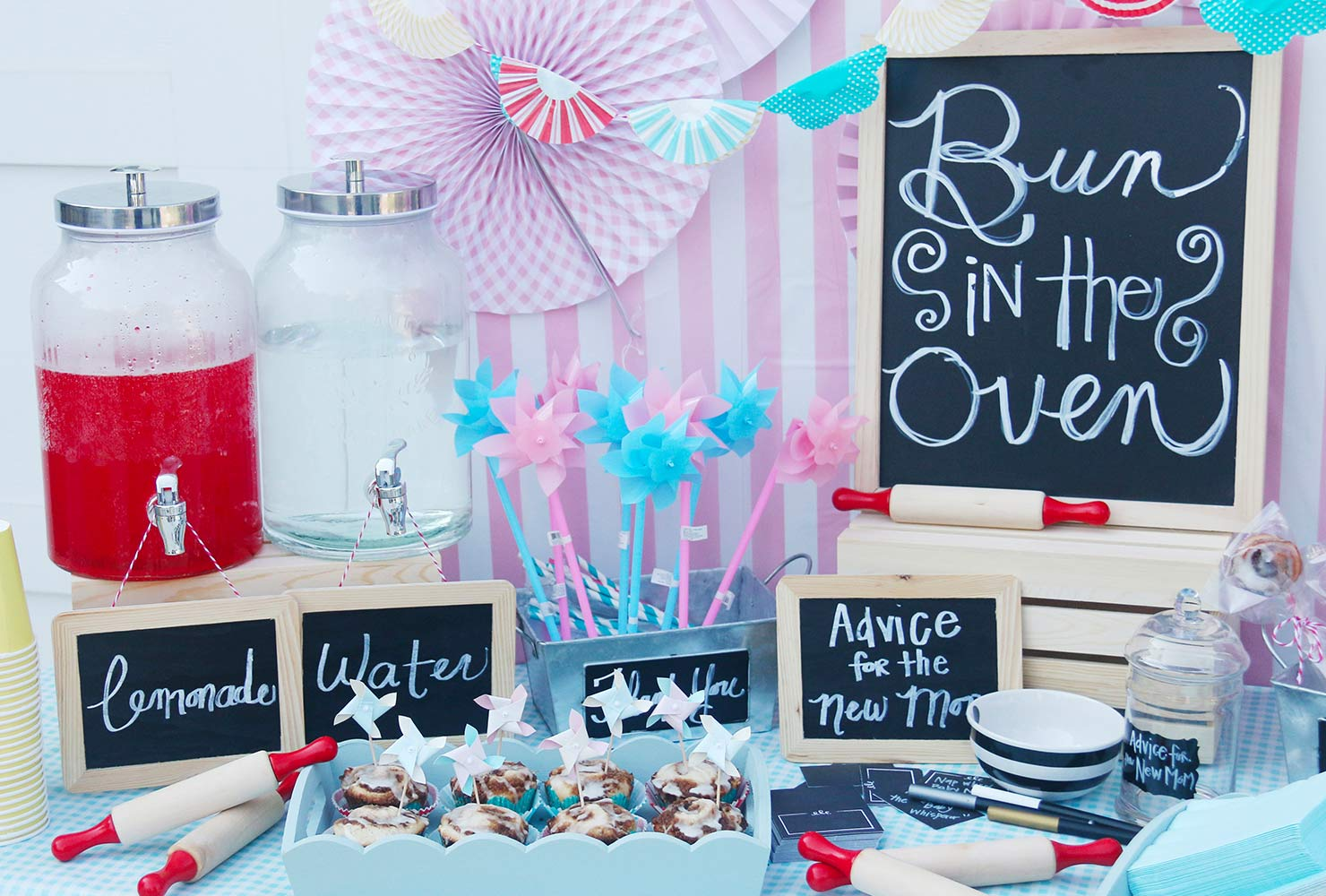 baby boy baby shower themes bun in the oven