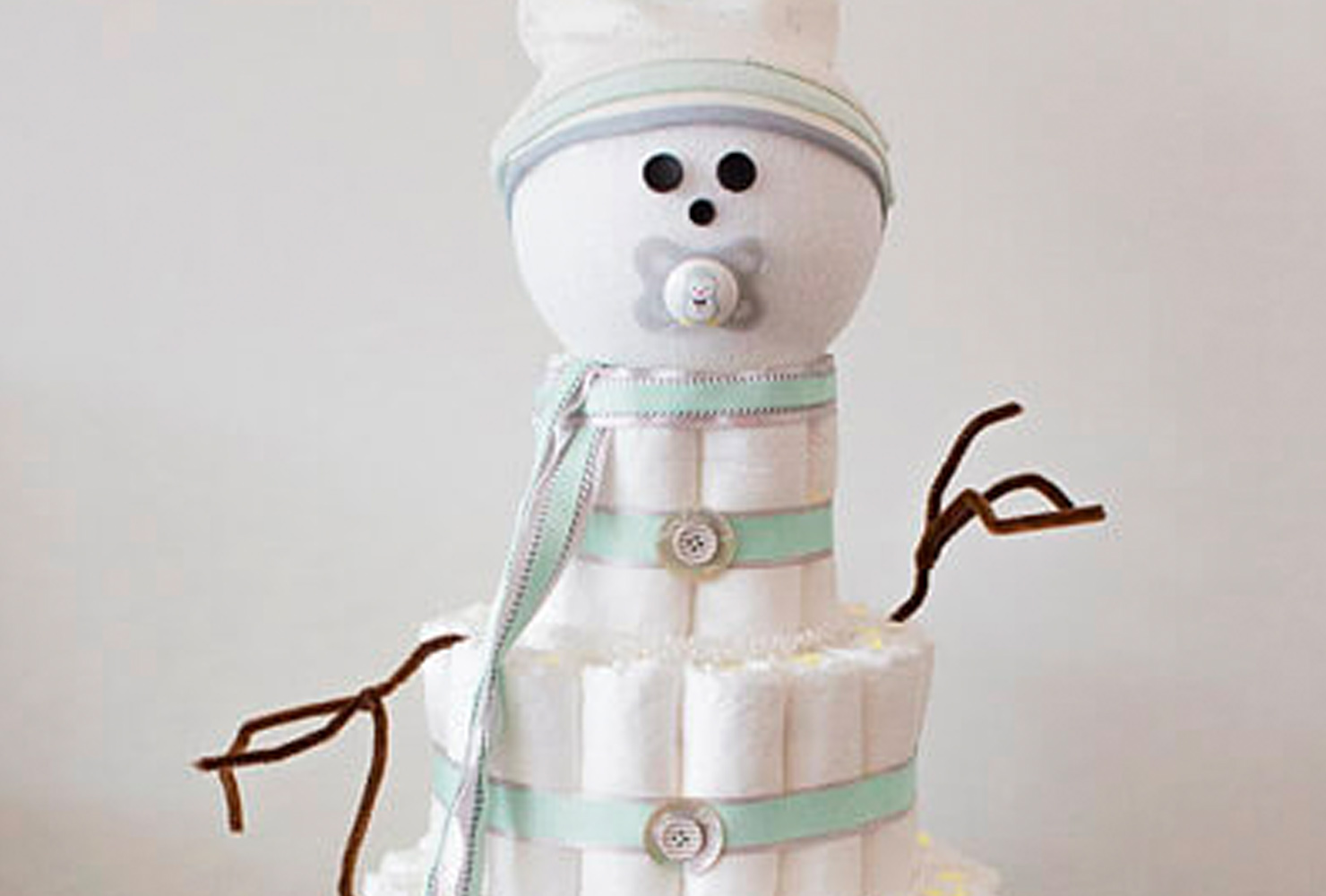 baby boy baby shower themes snowman diaper cake