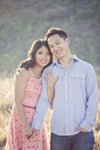 Rustic photo shoot of bride and groom.