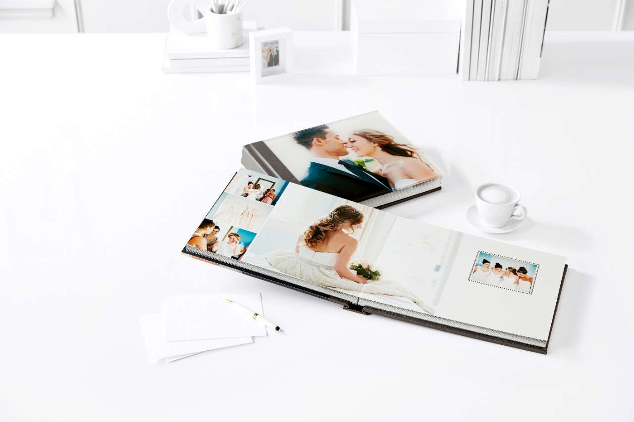 shutterfly personalized wedding photo album