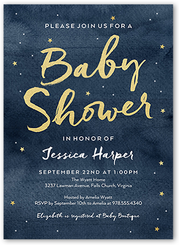 who pays for a baby shower