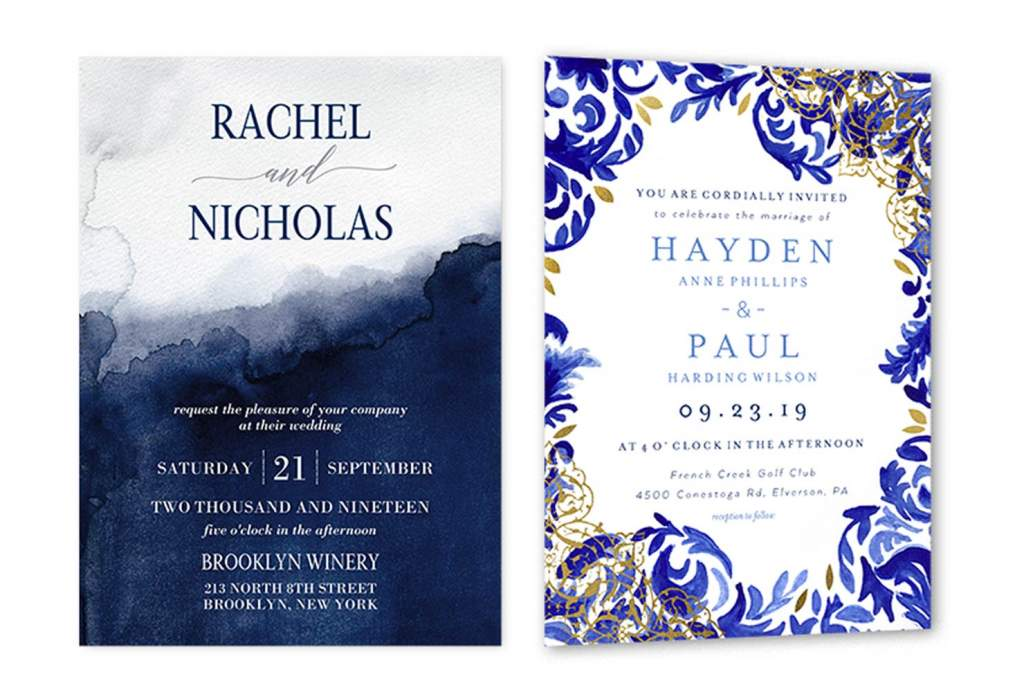 formal wedding invitation wording example