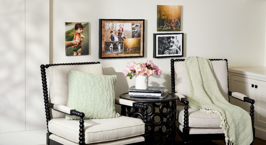 collage canvas prints gallery wall art