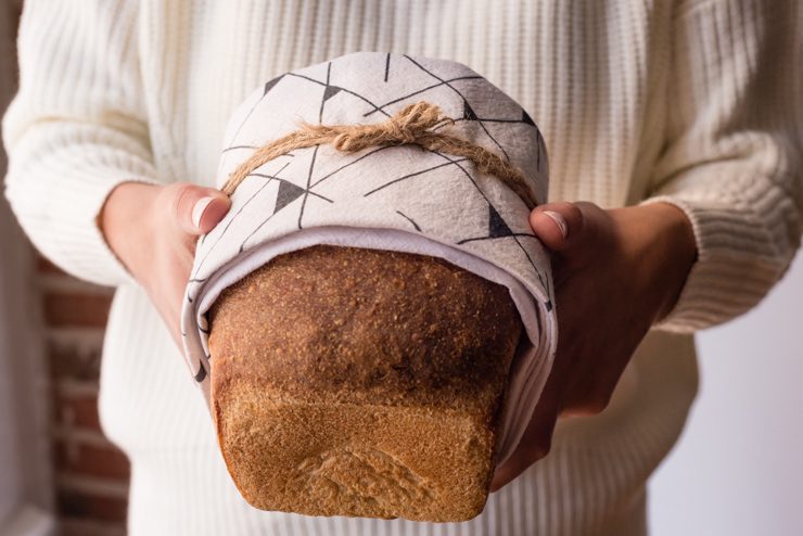 fresh bread gift idea
