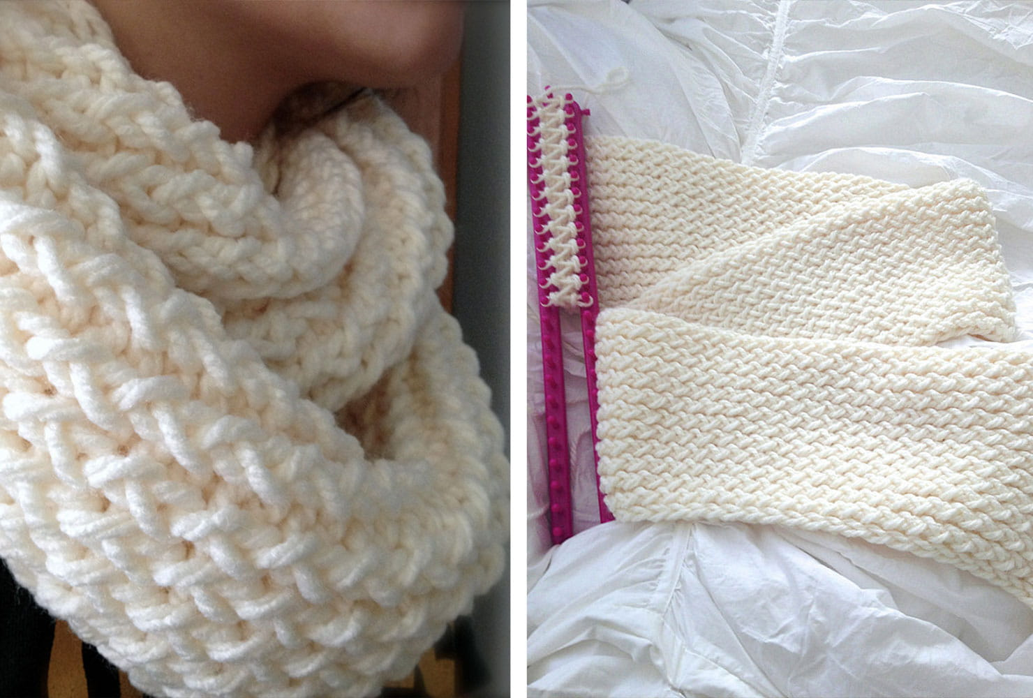 creative gift ideas knitted infinity scarf