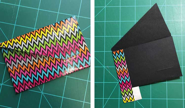 colorful business card holder gift for coworker