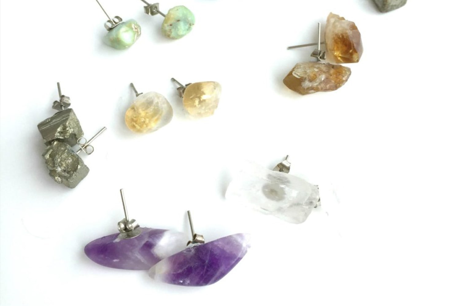 last minute gift ideas gemstone earrings