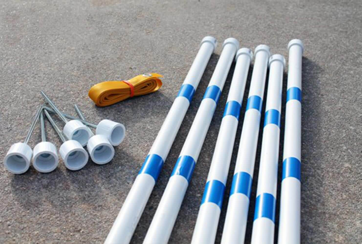 agility weave poles for dogs