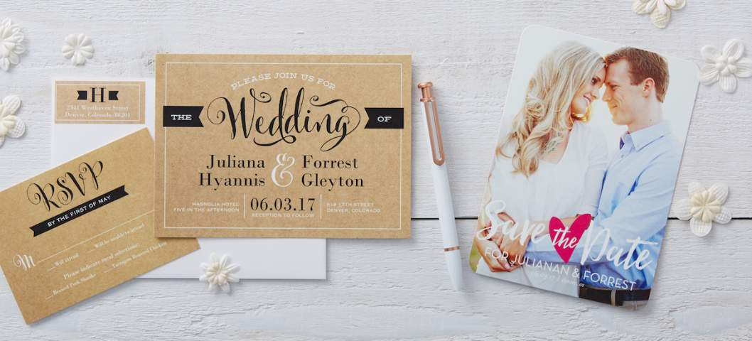 wedding invitation set package
