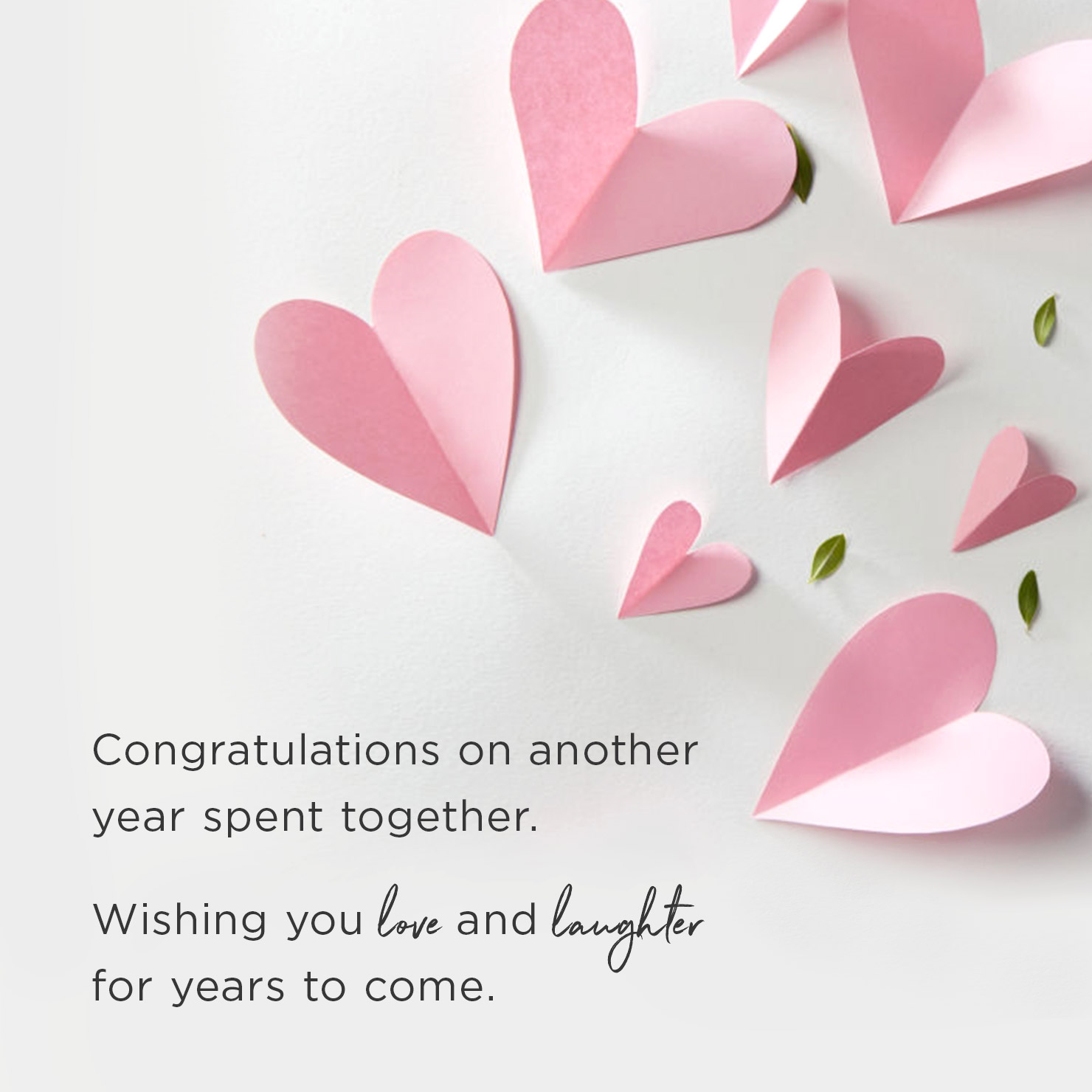 anniversary message for a couple