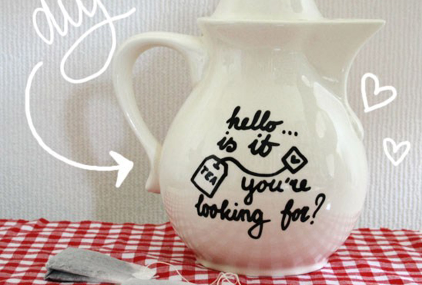 teapot with marker quote