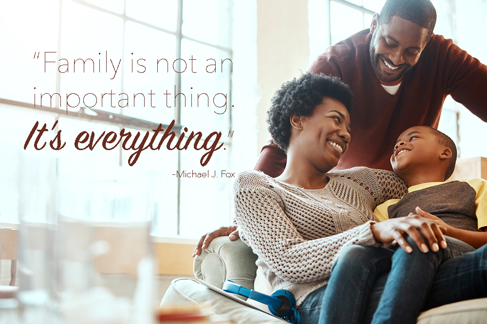 family isn't an important thing, family is everything quote