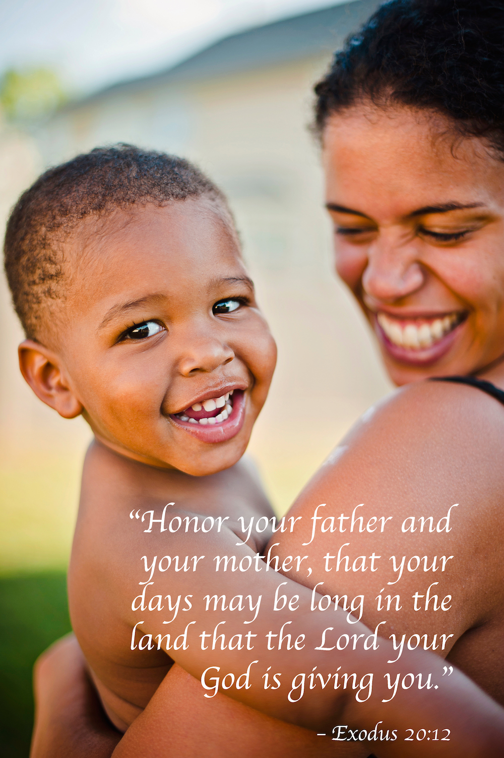 bible verse for mother and child