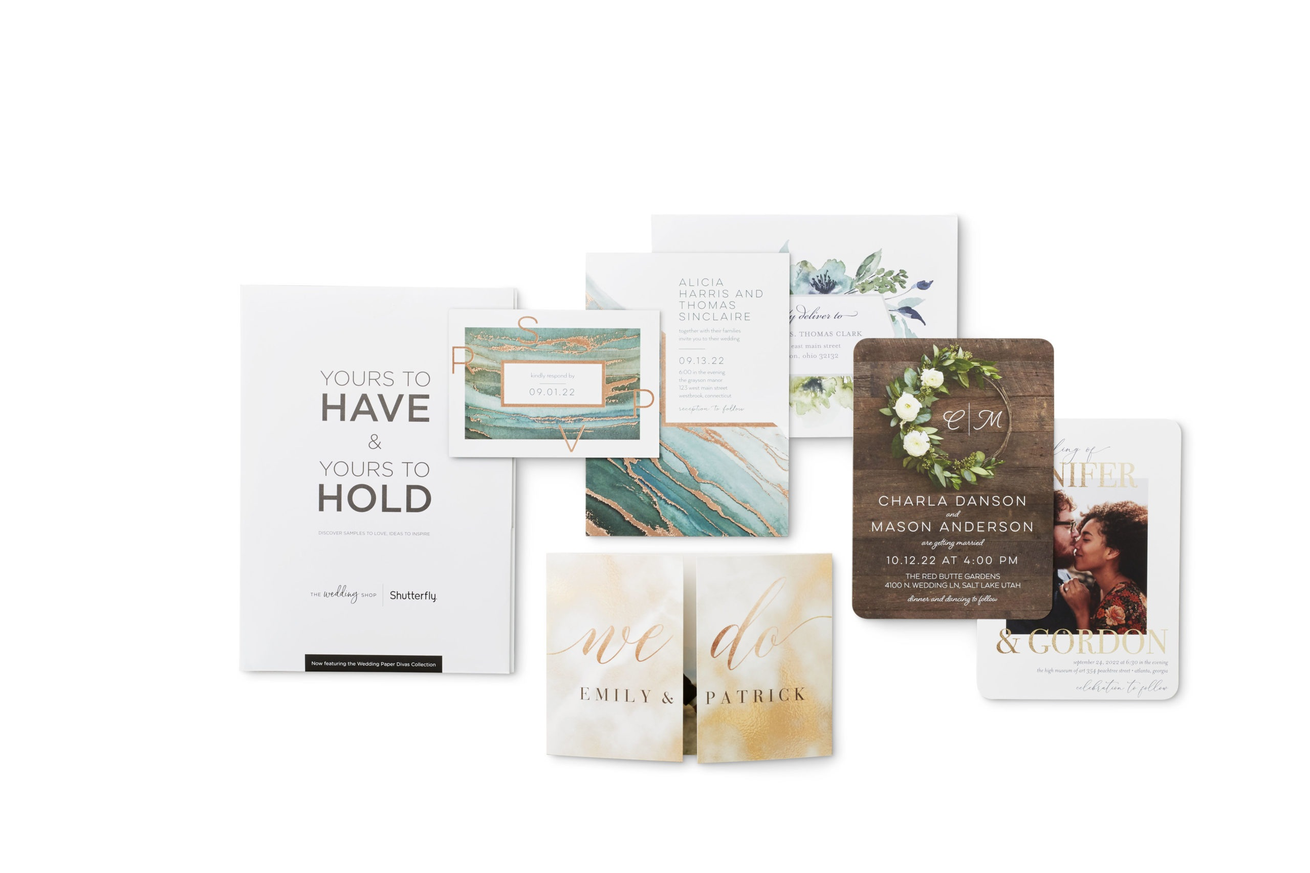 """Wedding invitations and stationery with phrases including """"we do"""""""