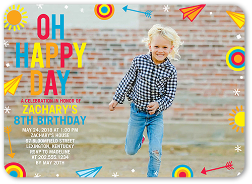 a fun boys birthday party invitation with perfect birthday invitation wording for kids