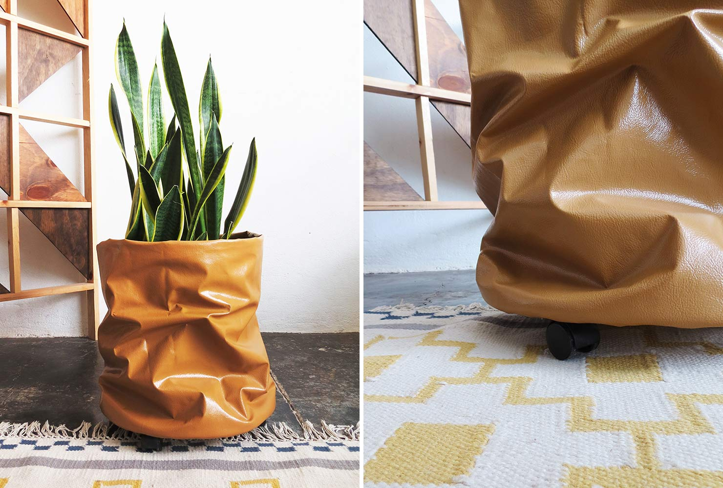 gifts for everyone rolling fabric planter