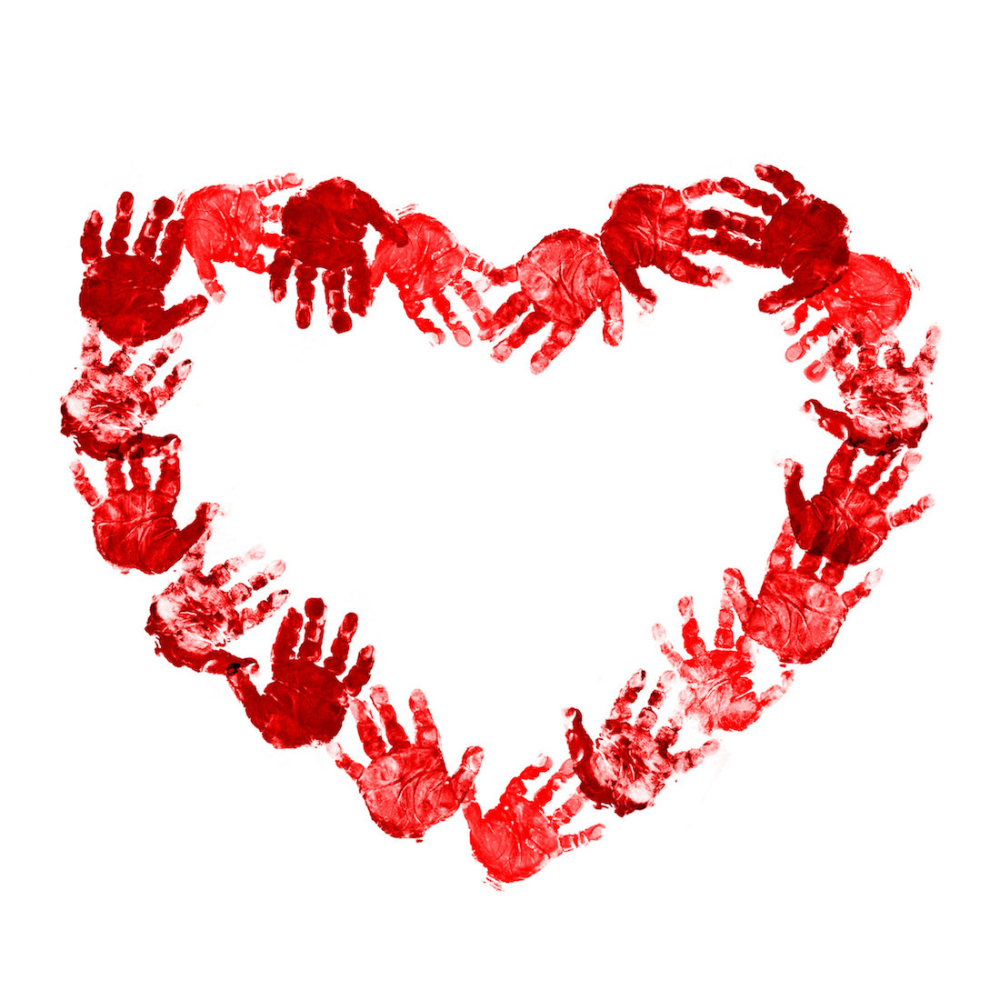 valentines day crafts for kids as a handprint craft