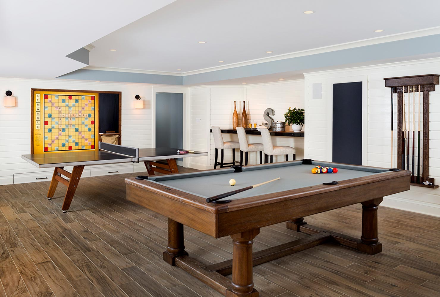 game room idea ping pong magnetic scrabble pool table