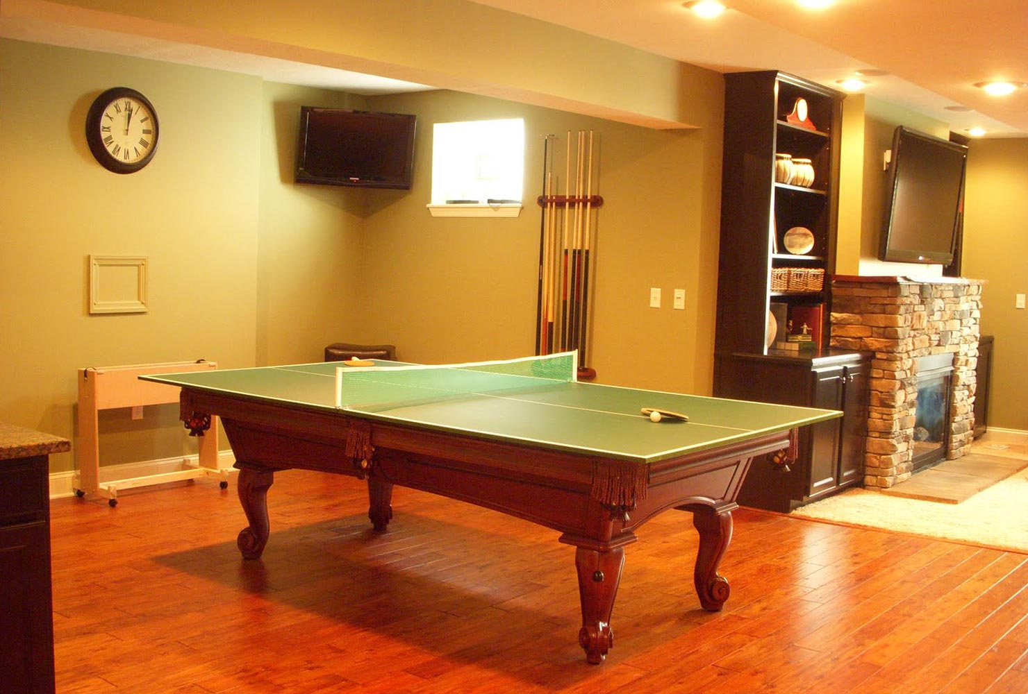game room idea ping pong pool table convertable
