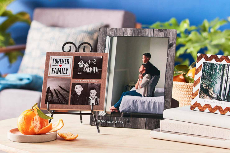 mothers day gift ideas family forever desk photos