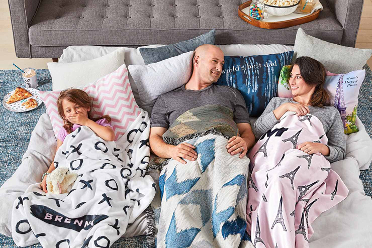 mothers day gift ideas family lounge blankets