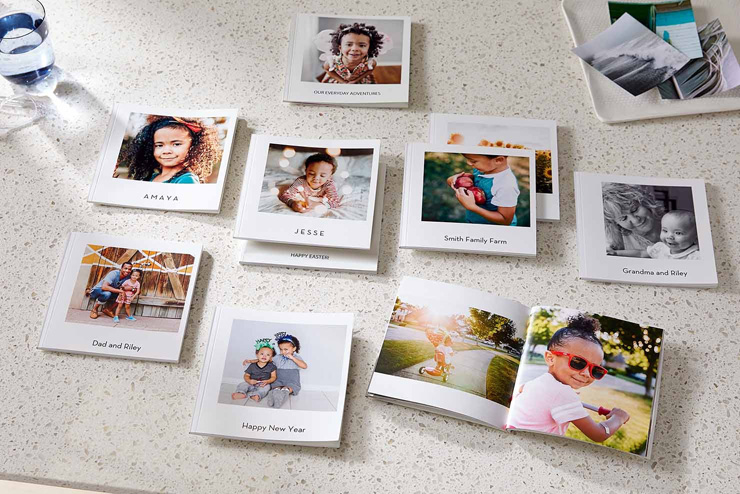 small softcover mini photo books with high quality photos