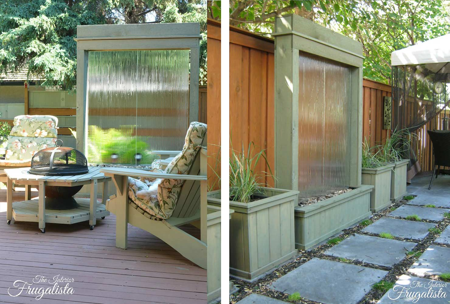 patio water wall