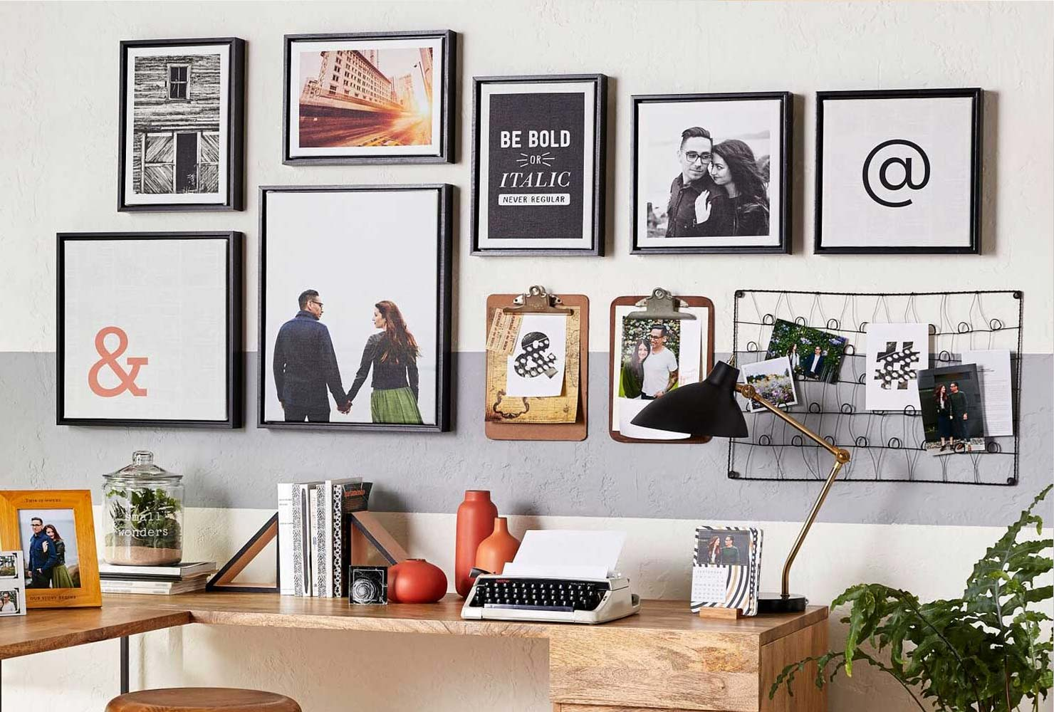 framed canvas prints gallery wall