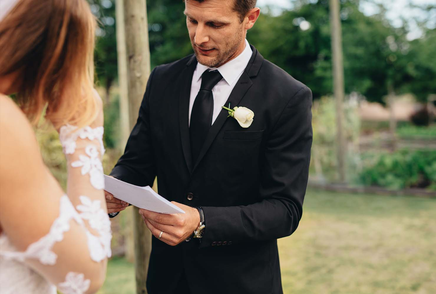 wedding vows groom