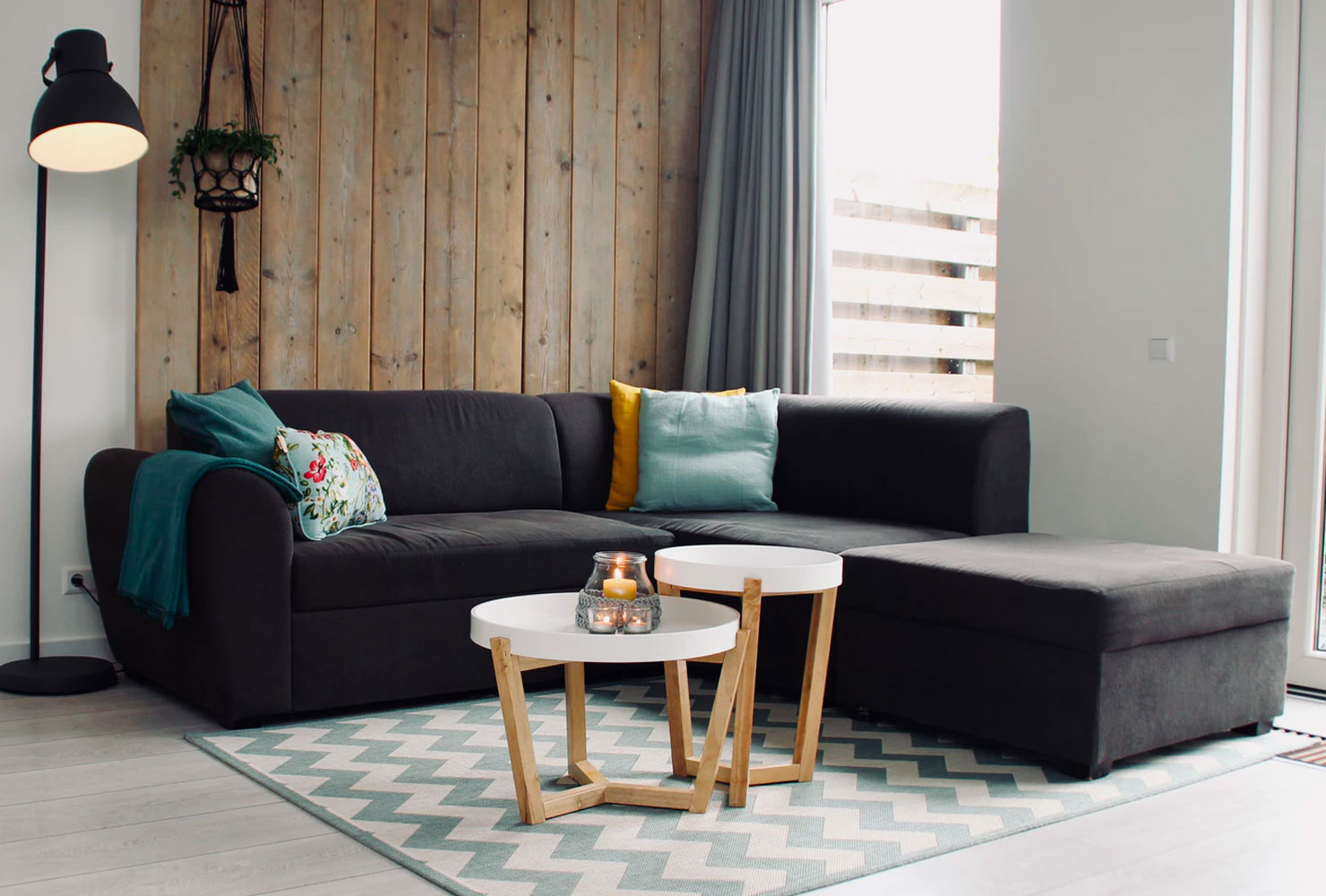 corner decoration ideas for living room sectional couch