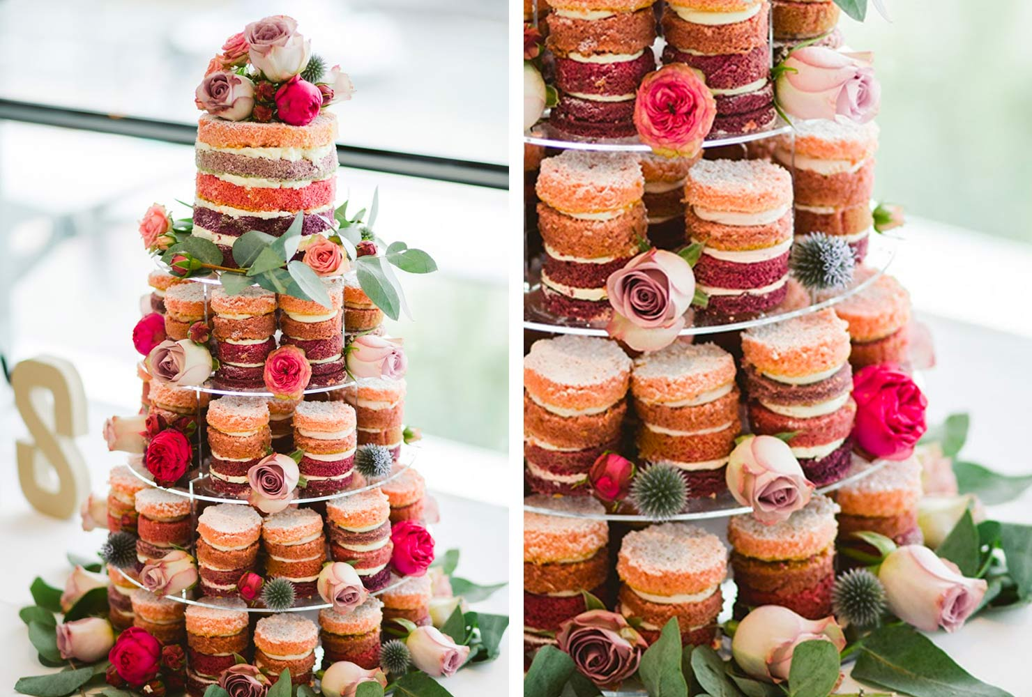 tower of cakes