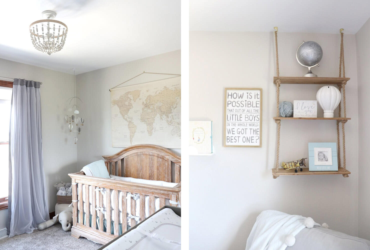nursery room ideas hot air balloons.