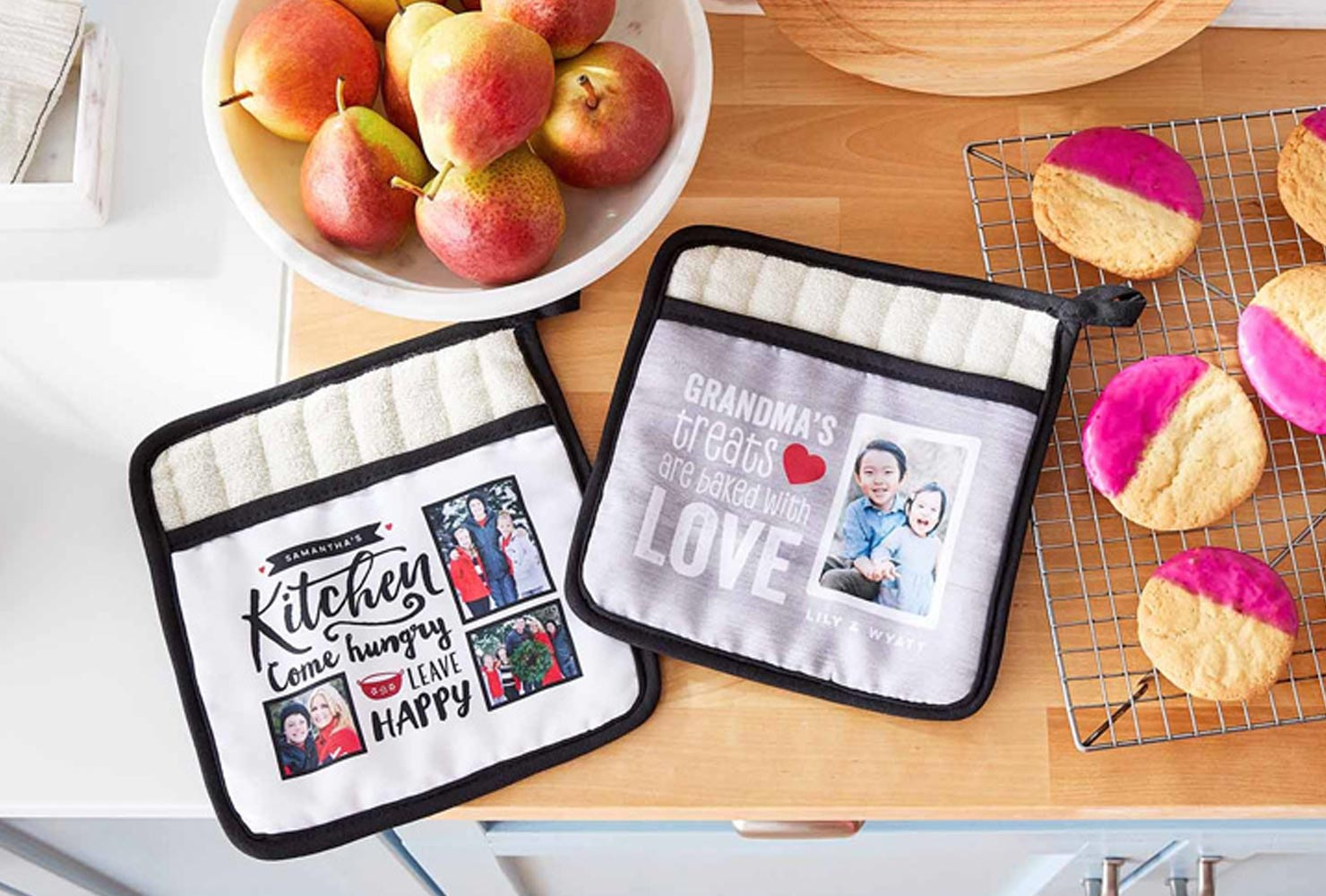 christmas gift ideas for friends personalized potholder.